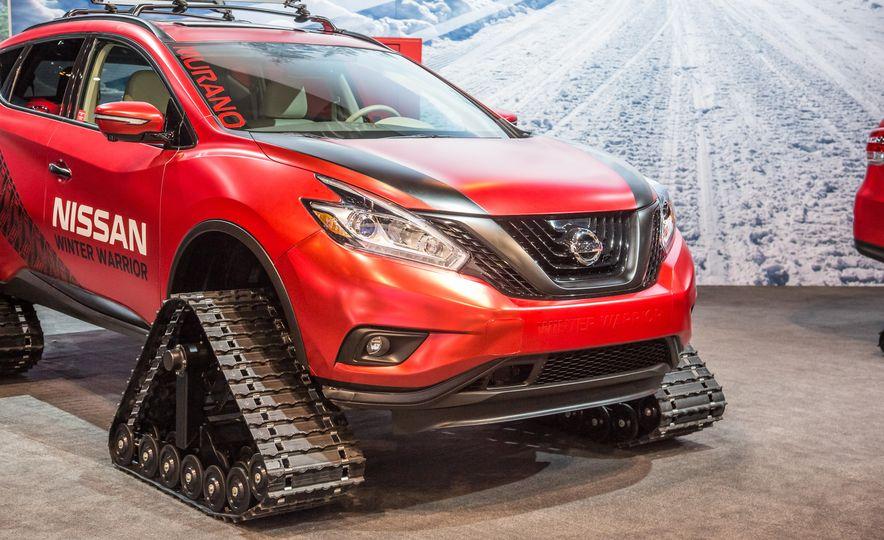 Nissan Murano and Pathfinder Winter Warrior concept - Slide 8