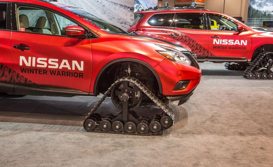 Nissan Murano and Pathfinder Winter Warrior concept - Slide 9