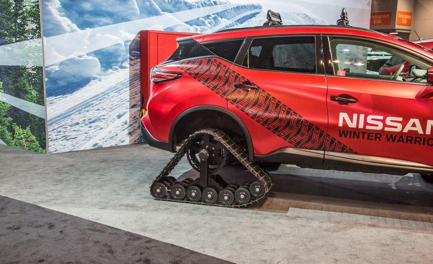 Nissan Murano and Pathfinder Winter Warrior concept - Slide 10