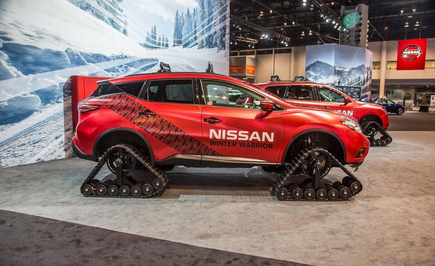 Nissan Murano and Pathfinder Winter Warrior concept - Slide 11