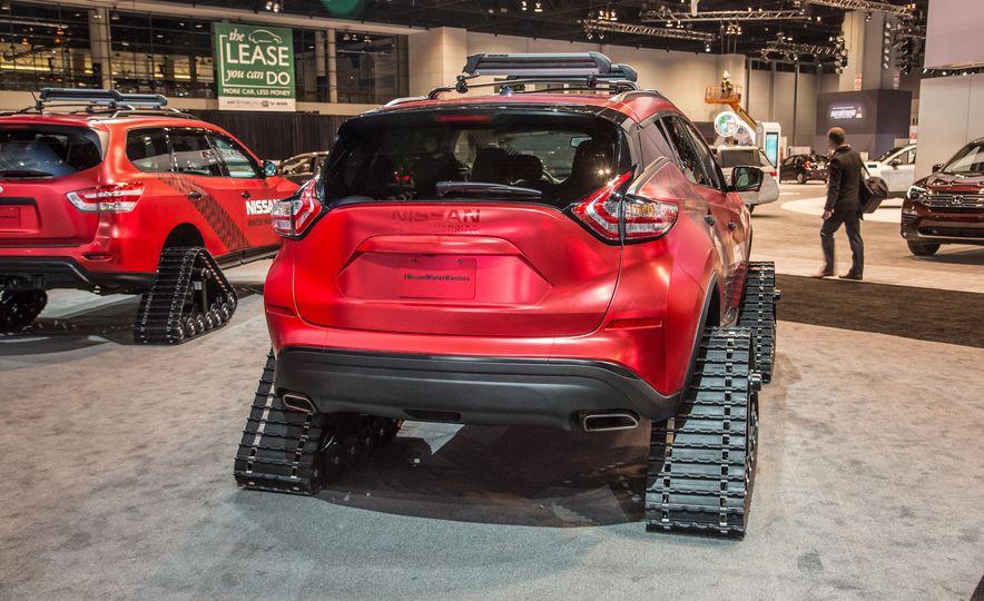 Nissan Murano and Pathfinder Winter Warrior concept - Slide 12