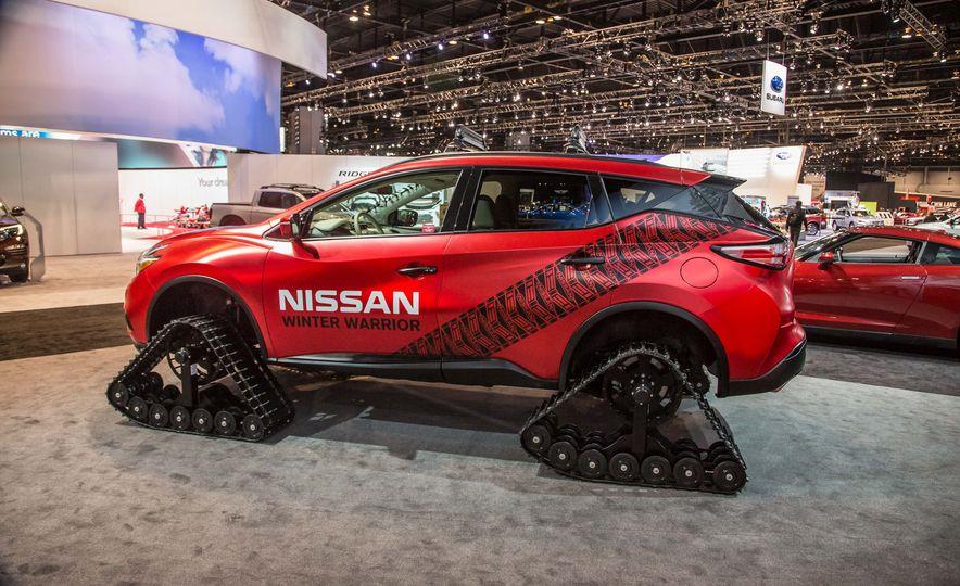 Nissan Murano and Pathfinder Winter Warrior concept - Slide 14
