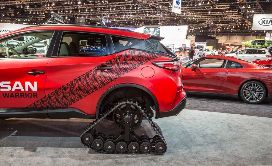 Nissan Murano and Pathfinder Winter Warrior concept - Slide 15