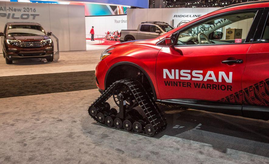 Nissan Murano and Pathfinder Winter Warrior concept - Slide 16