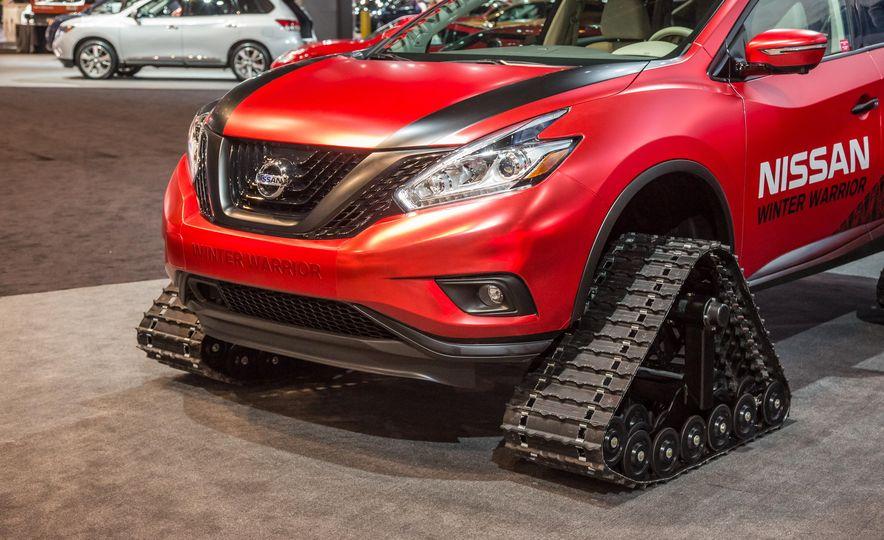 Nissan Murano and Pathfinder Winter Warrior concept - Slide 17