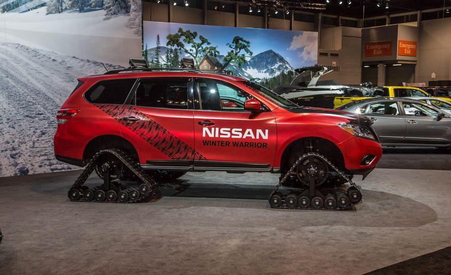 Nissan Murano and Pathfinder Winter Warrior concept - Slide 18
