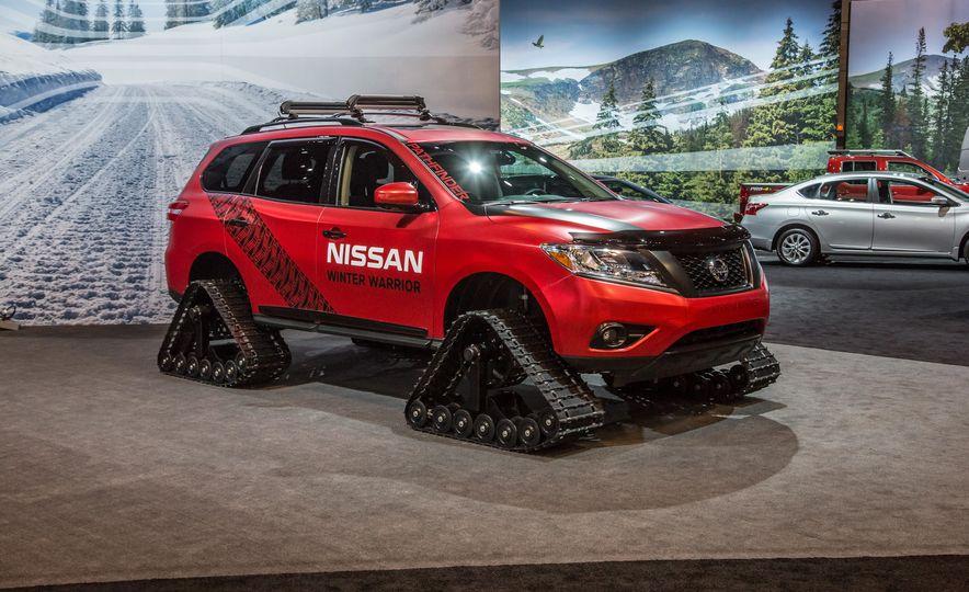 Nissan Murano and Pathfinder Winter Warrior concept - Slide 19