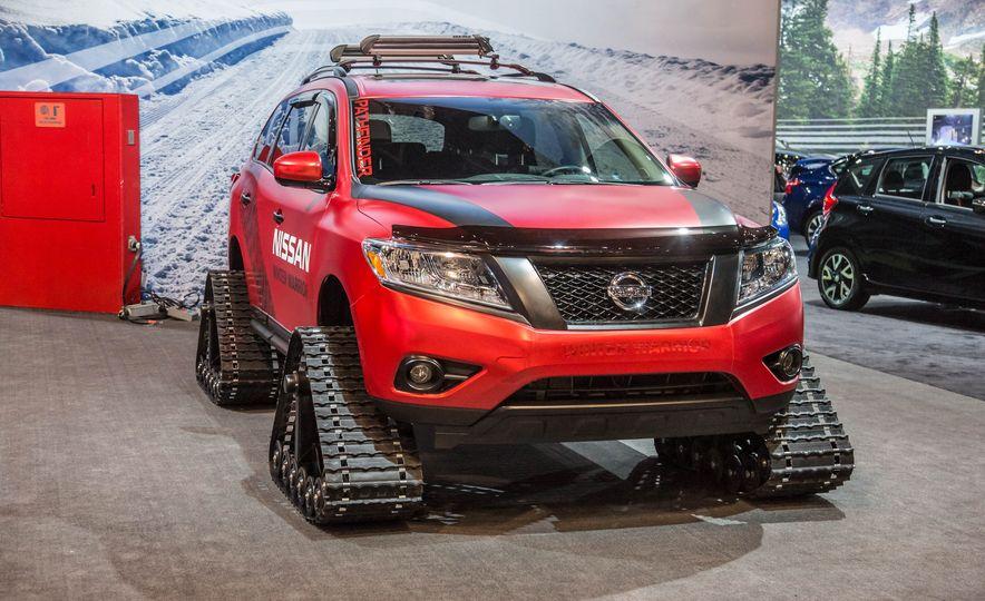 Nissan Murano and Pathfinder Winter Warrior concept - Slide 20