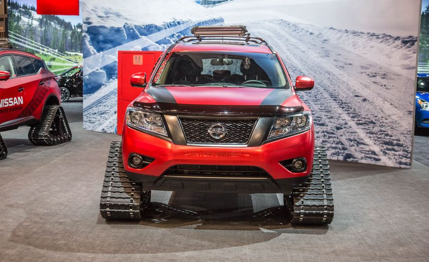Nissan Murano and Pathfinder Winter Warrior concept - Slide 21