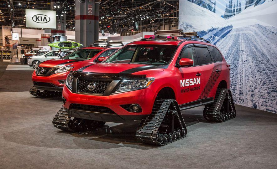 Nissan Murano and Pathfinder Winter Warrior concept - Slide 22