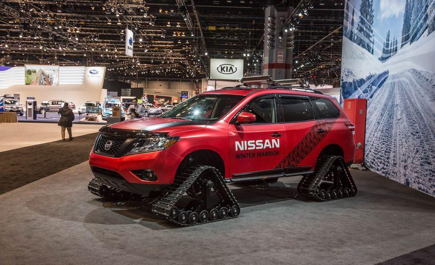 Nissan Murano and Pathfinder Winter Warrior concept - Slide 23