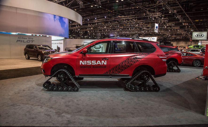 Nissan Murano and Pathfinder Winter Warrior concept - Slide 24