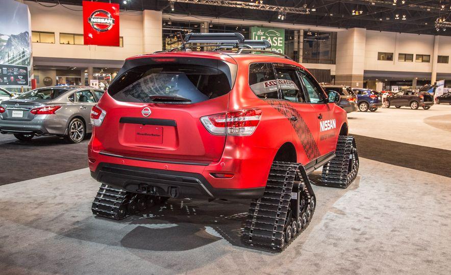 Nissan Murano and Pathfinder Winter Warrior concept - Slide 25