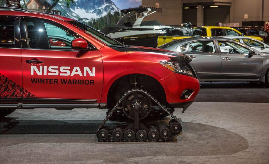 Nissan Murano and Pathfinder Winter Warrior concept - Slide 26