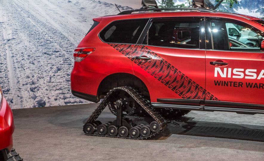 Nissan Murano and Pathfinder Winter Warrior concept - Slide 27