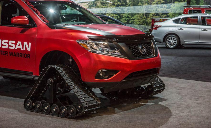 Nissan Murano and Pathfinder Winter Warrior concept - Slide 33