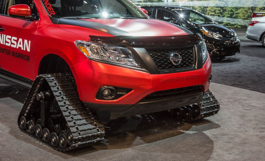 Nissan Murano and Pathfinder Winter Warrior concept - Slide 32
