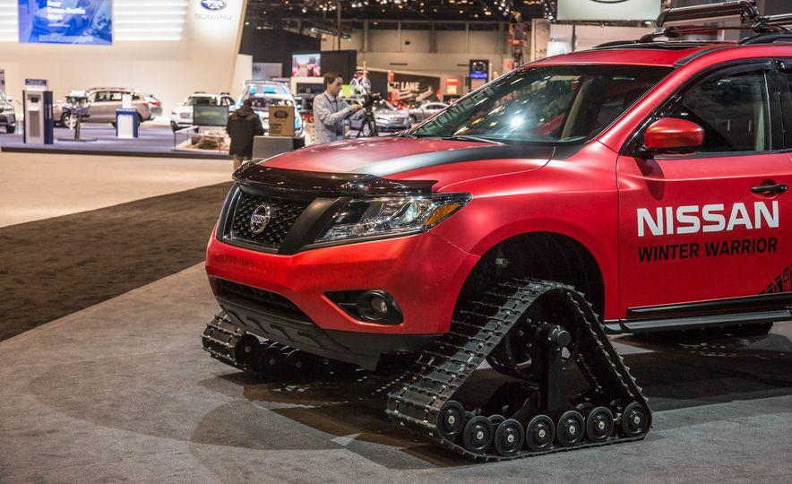 Nissan Murano and Pathfinder Winter Warrior concept - Slide 31
