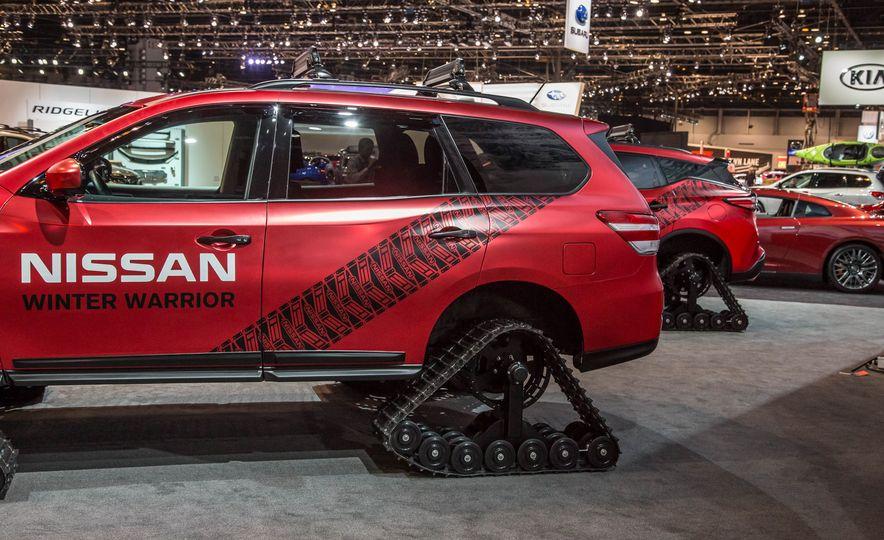Nissan Murano and Pathfinder Winter Warrior concept - Slide 30