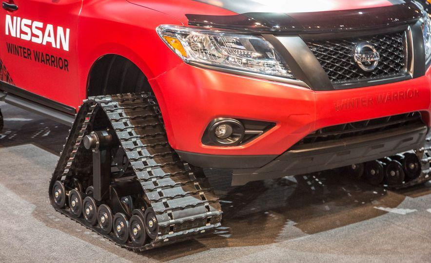 Nissan Murano and Pathfinder Winter Warrior concept - Slide 29