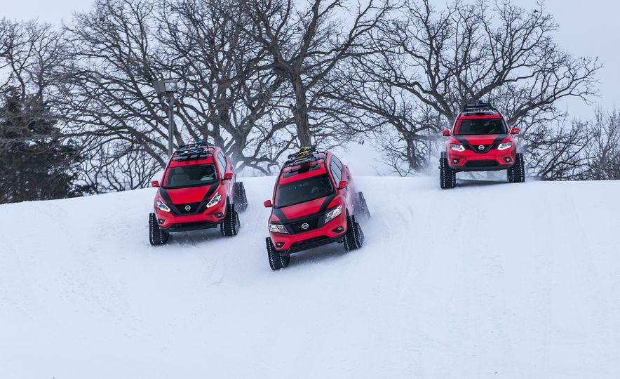 Nissan Murano and Pathfinder Winter Warrior concept - Slide 34