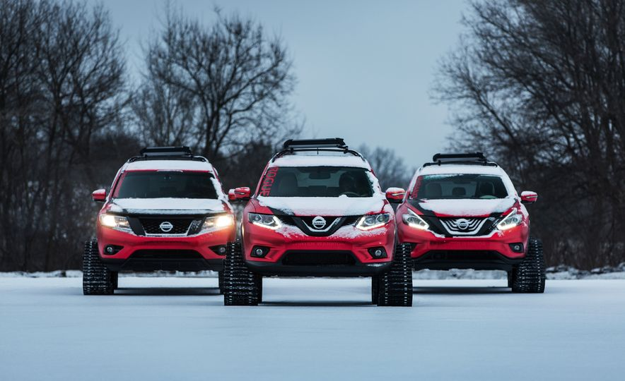 Nissan Murano and Pathfinder Winter Warrior concept - Slide 36