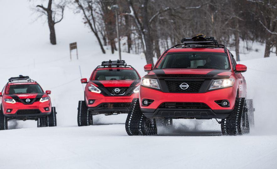 Nissan Murano and Pathfinder Winter Warrior concept - Slide 37