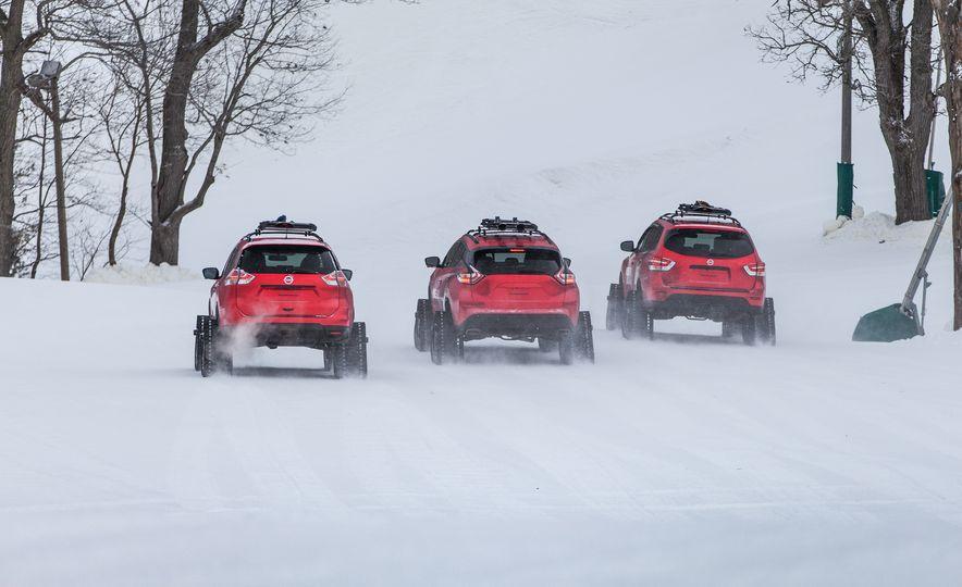 Nissan Murano and Pathfinder Winter Warrior concept - Slide 38