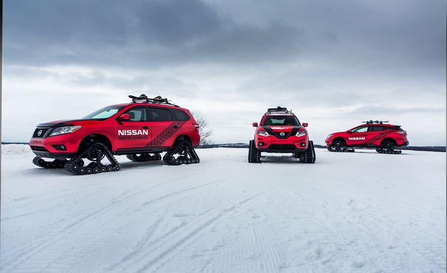 Nissan Murano and Pathfinder Winter Warrior concept - Slide 39