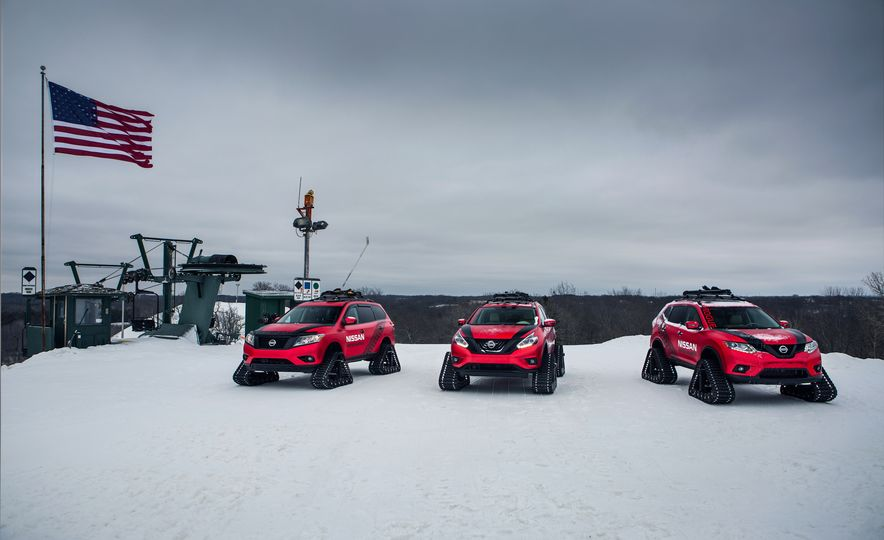 Nissan Murano and Pathfinder Winter Warrior concept - Slide 40