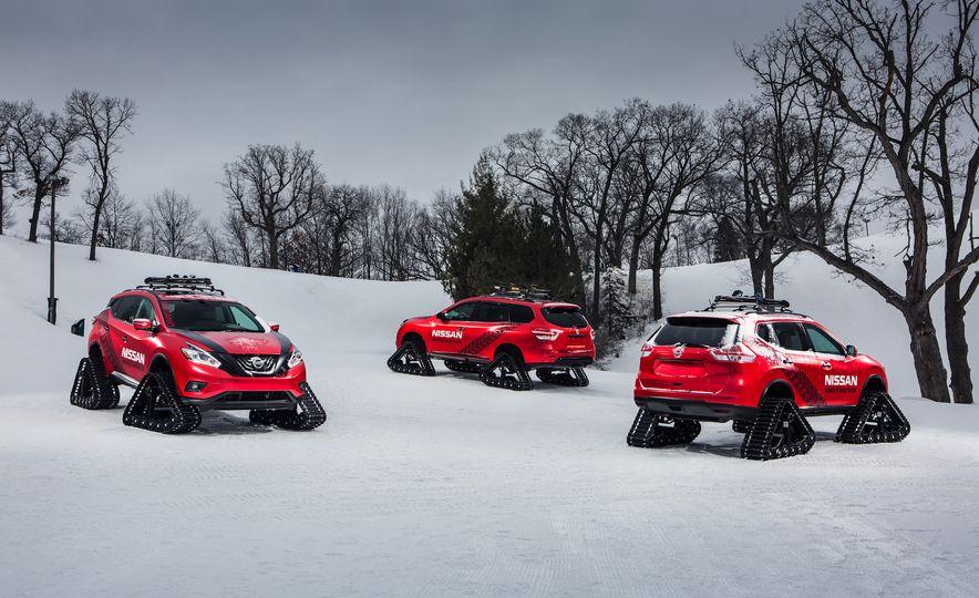 Nissan Murano and Pathfinder Winter Warrior concept - Slide 41