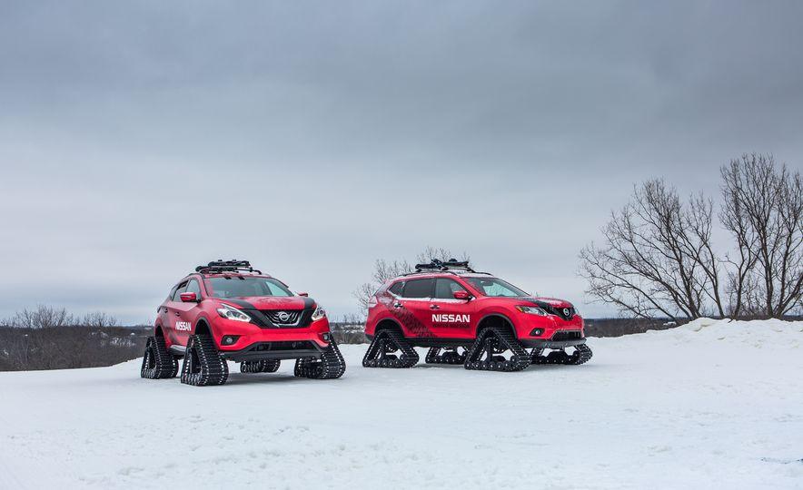 Nissan Murano and Pathfinder Winter Warrior concept - Slide 42