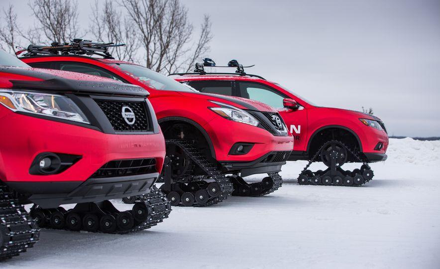 Nissan Murano and Pathfinder Winter Warrior concept - Slide 43