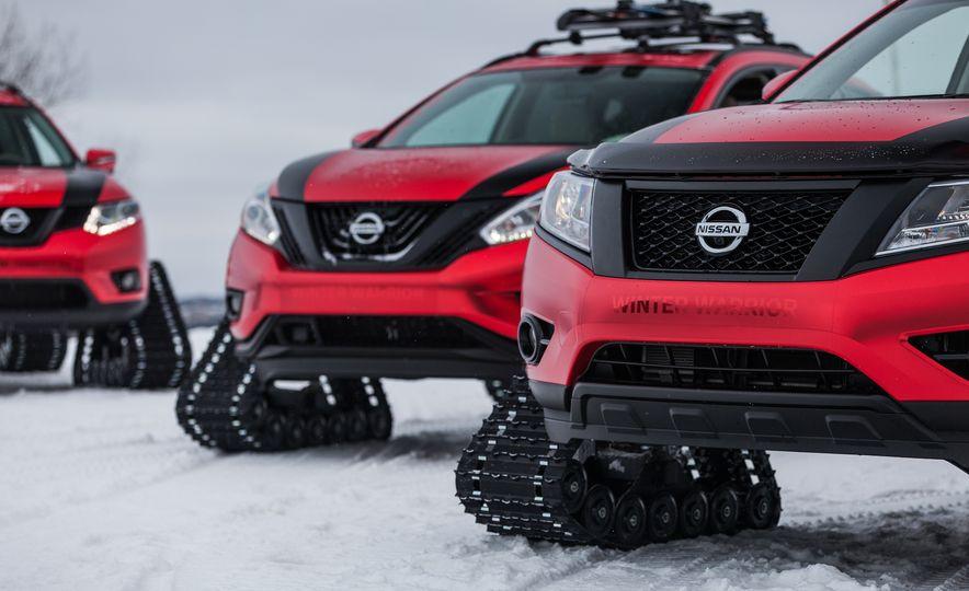 Nissan Murano and Pathfinder Winter Warrior concept - Slide 44