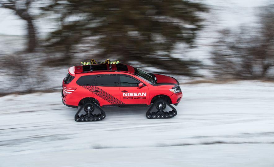 Nissan Murano and Pathfinder Winter Warrior concept - Slide 45