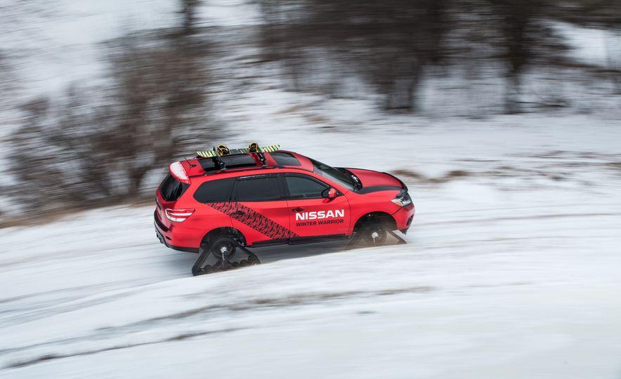 Nissan Murano and Pathfinder Winter Warrior concept - Slide 46