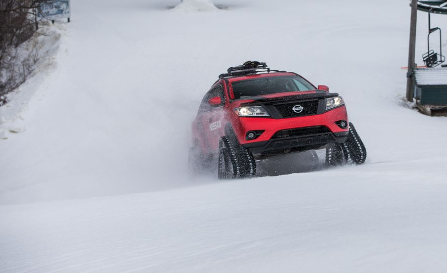 Nissan Murano and Pathfinder Winter Warrior concept - Slide 47