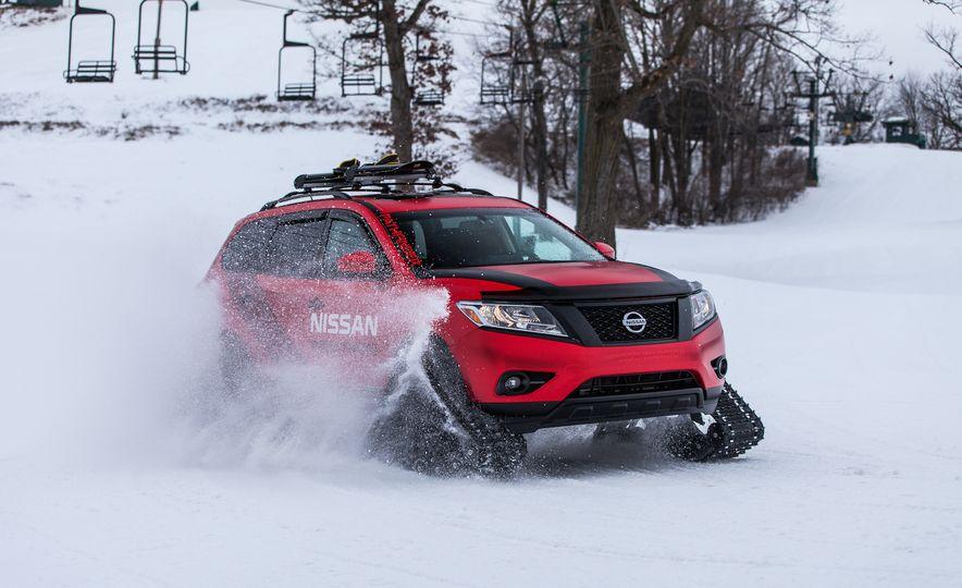 Nissan Murano and Pathfinder Winter Warrior concept - Slide 48
