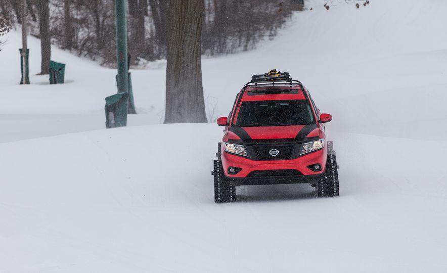 Nissan Murano and Pathfinder Winter Warrior concept - Slide 49