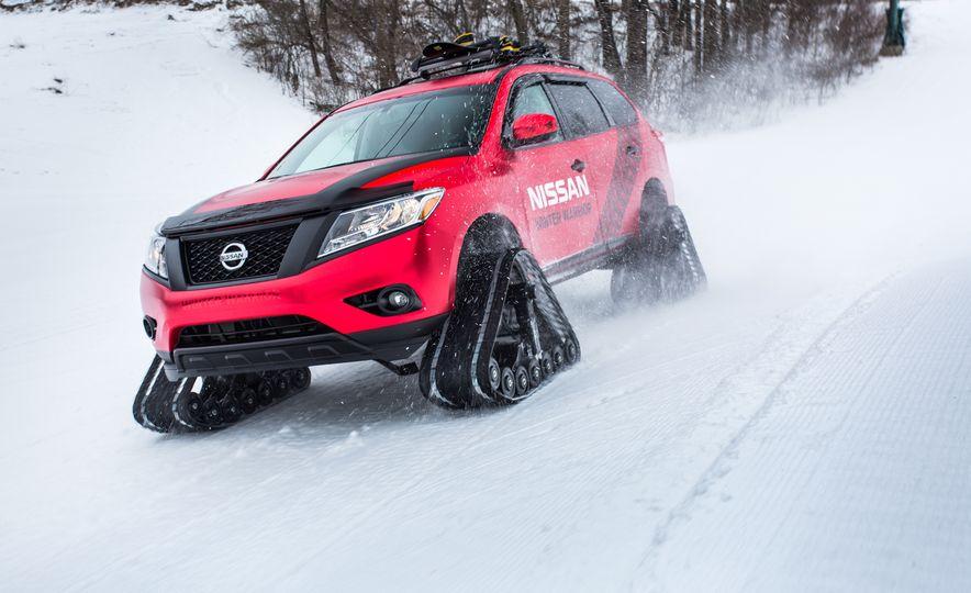 Nissan Murano and Pathfinder Winter Warrior concept - Slide 50