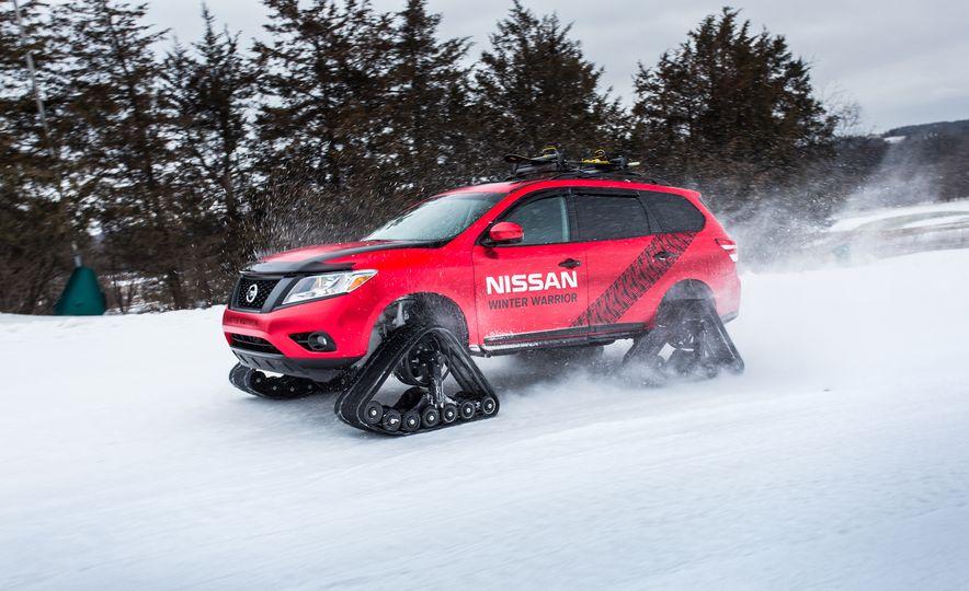 Nissan Murano and Pathfinder Winter Warrior concept - Slide 51