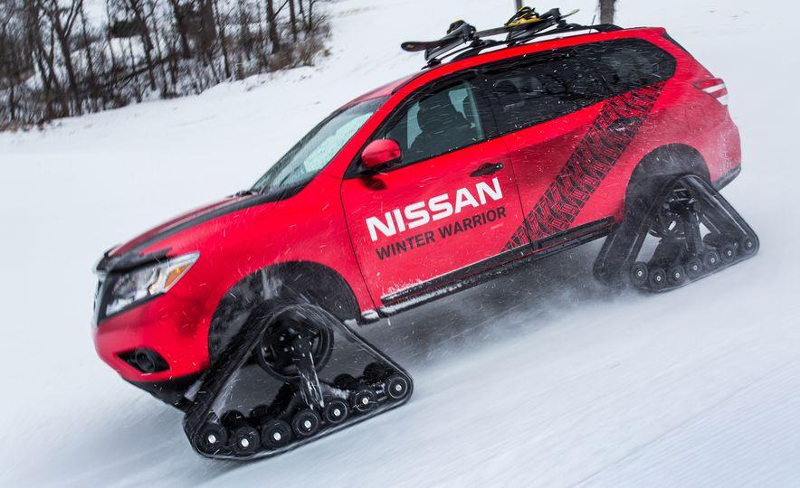 Nissan Murano and Pathfinder Winter Warrior concept - Slide 52
