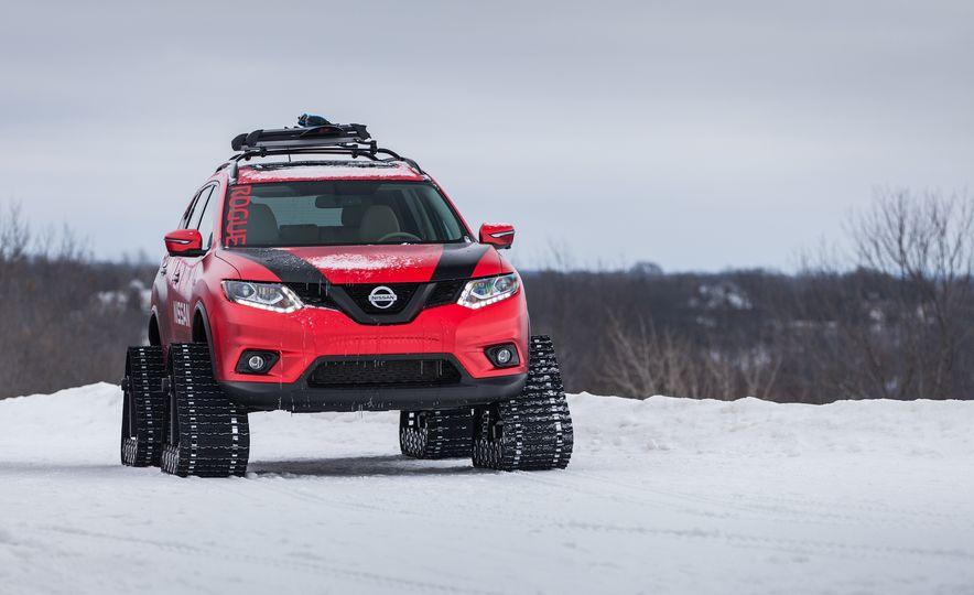 Nissan Murano and Pathfinder Winter Warrior concept - Slide 55