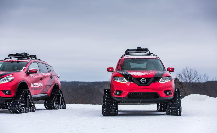 Nissan Murano and Pathfinder Winter Warrior concept - Slide 56