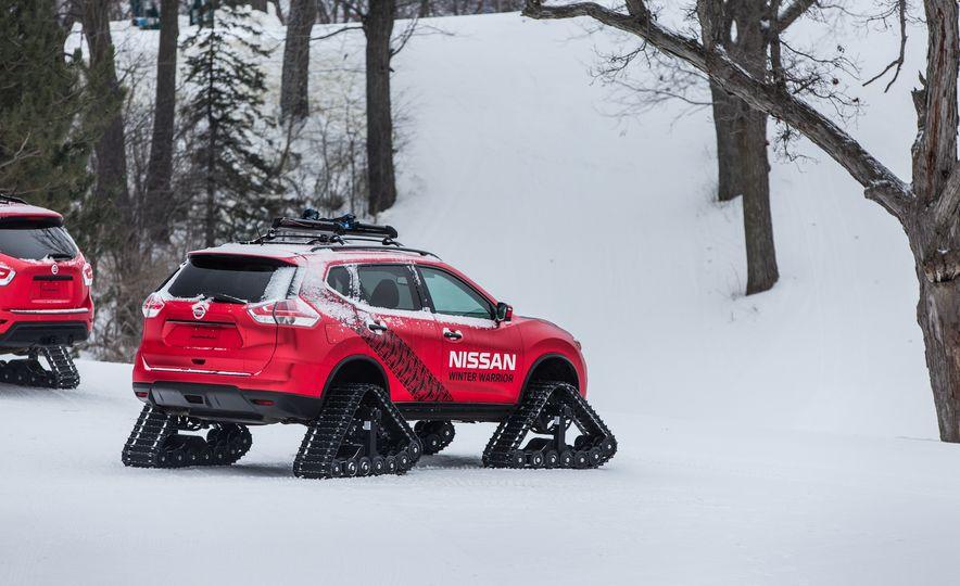 Nissan Murano and Pathfinder Winter Warrior concept - Slide 57