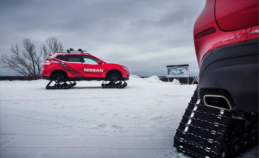 Nissan Murano and Pathfinder Winter Warrior concept - Slide 58