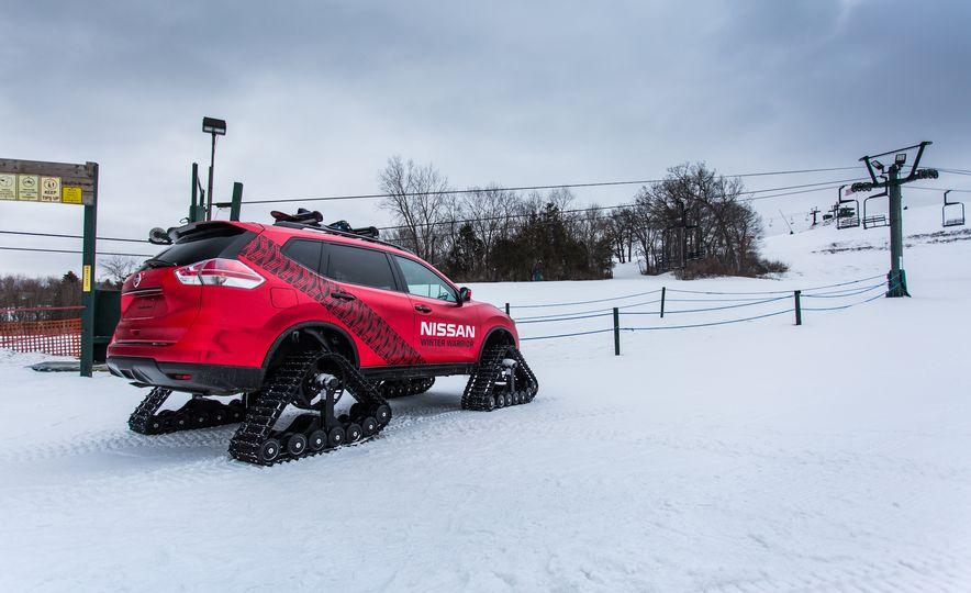 Nissan Murano and Pathfinder Winter Warrior concept - Slide 59