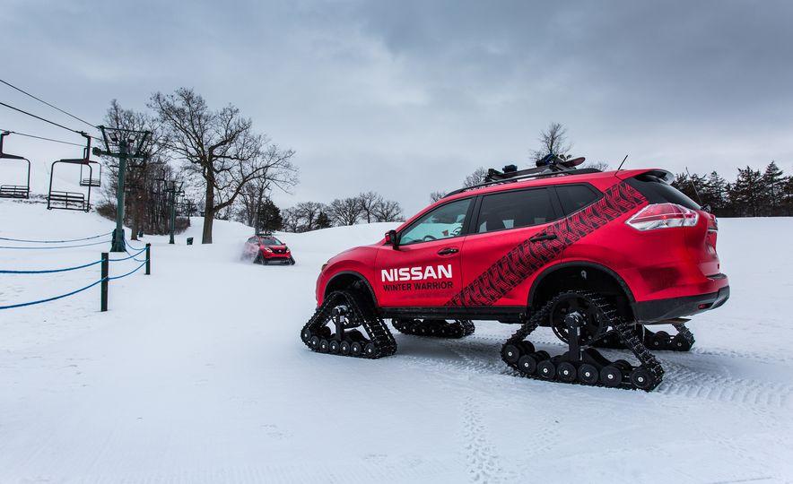 Nissan Murano and Pathfinder Winter Warrior concept - Slide 60