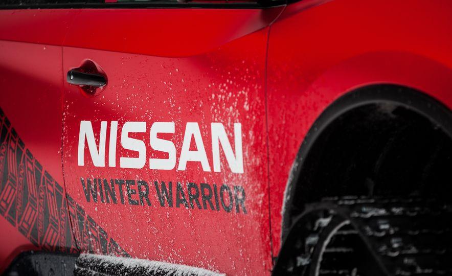 Nissan Murano and Pathfinder Winter Warrior concept - Slide 61