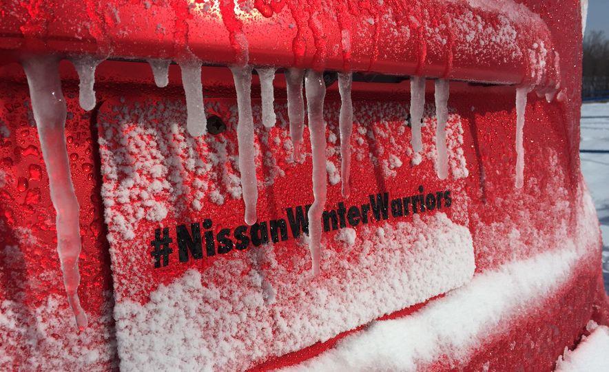 Nissan Murano and Pathfinder Winter Warrior concept - Slide 63